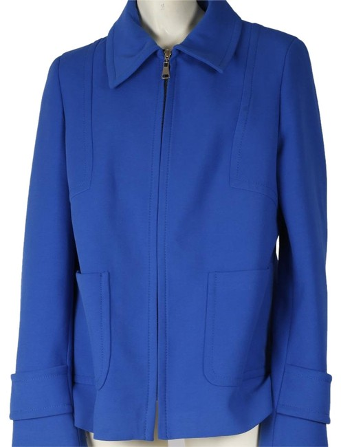 Zara Woman Basic Blue Jacket Image 0