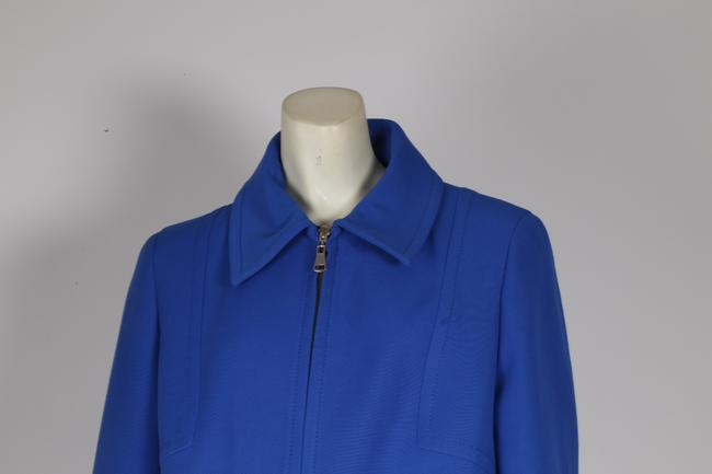 Zara Woman Basic Blue Jacket Image 1