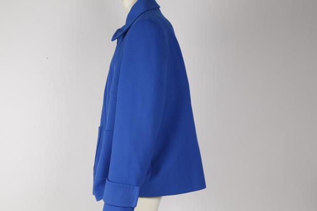 Zara Woman Basic Blue Jacket Image 4