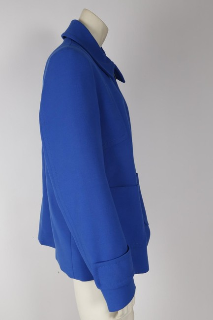 Zara Woman Basic Blue Jacket Image 5
