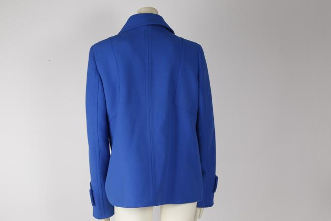 Zara Woman Basic Blue Jacket Image 6