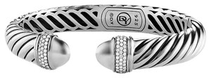 David Yurman David Yurman Diamond Cuff Bracelet