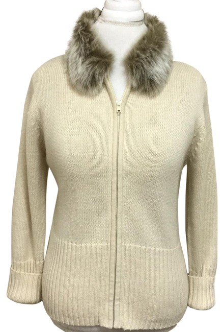Preload https://img-static.tradesy.com/item/22760294/kathie-lee-collection-ivory-zip-or-cardigan-sweaterpullover-size-8-m-0-1-650-650.jpg