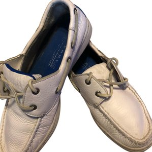 Sperry Topsiders Boat White Flats