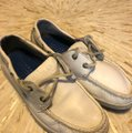 Sperry Topsiders Boat White Flats Image 2
