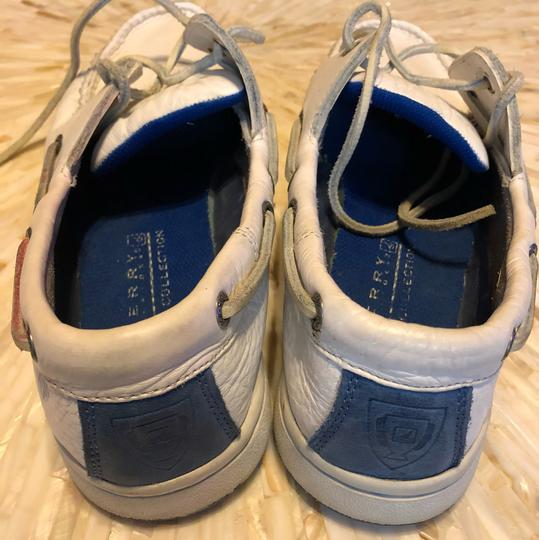 Sperry Topsiders Boat White Flats Image 4