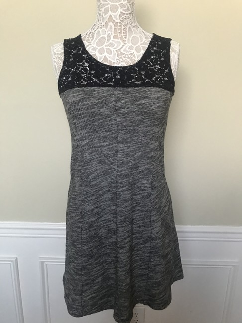 Anthropologie short dress Navy Blue on Tradesy Image 2