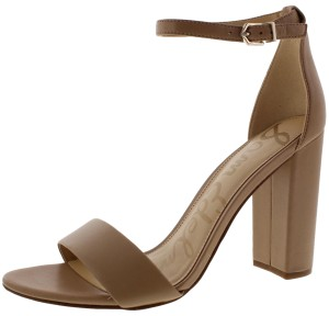Sam Edelman Classic Nude Leather Sandals