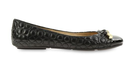 Kate Spade Leather Black Flats Image 0