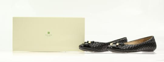 Kate Spade Leather Black Flats Image 11