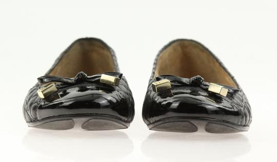 Kate Spade Leather Black Flats Image 5
