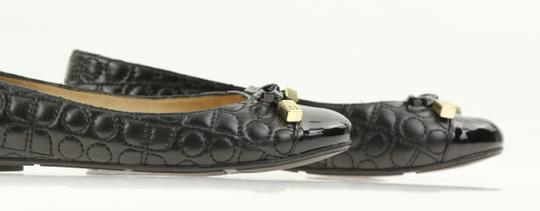 Kate Spade Leather Black Flats Image 6