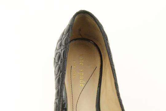 Kate Spade Leather Black Flats Image 7