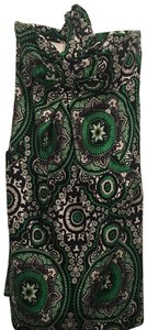Shoshanna short dress green on Tradesy