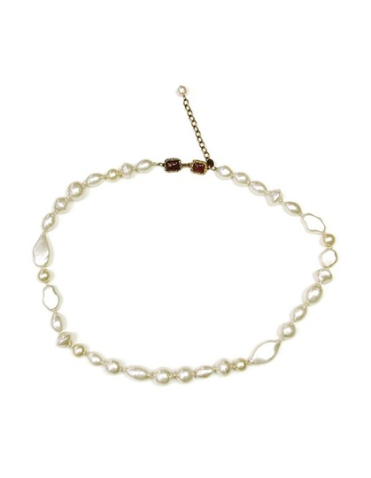 Chanel Chanel Vintage 1983 Long Pearl Strand Necklace Image 1