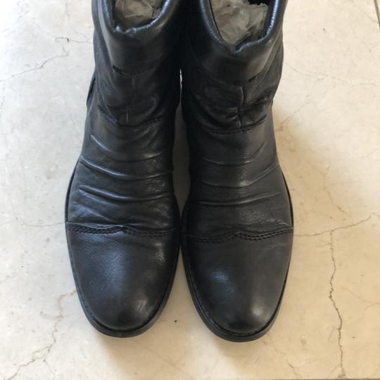 Gianluca Tombolini Leather Traffic Italian Hipster Black Boots Image 1