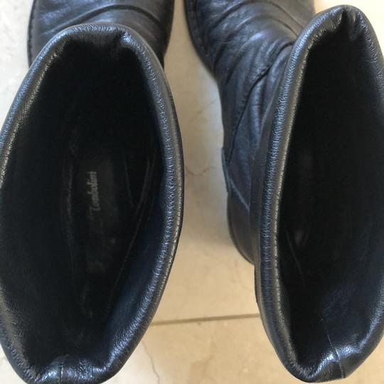 Gianluca Tombolini Leather Traffic Italian Hipster Black Boots Image 10