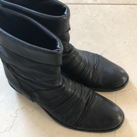 Gianluca Tombolini Leather Traffic Italian Hipster Black Boots Image 11