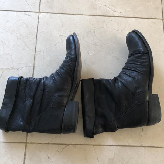 Gianluca Tombolini Leather Traffic Italian Hipster Black Boots Image 5