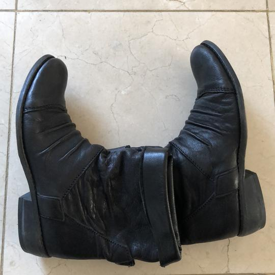 Gianluca Tombolini Leather Traffic Italian Hipster Black Boots Image 6