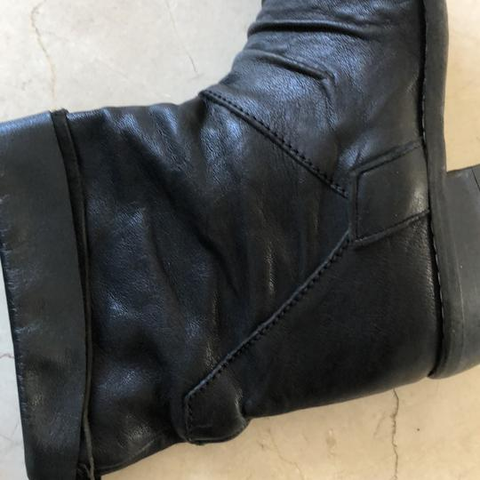 Gianluca Tombolini Leather Traffic Italian Hipster Black Boots Image 7