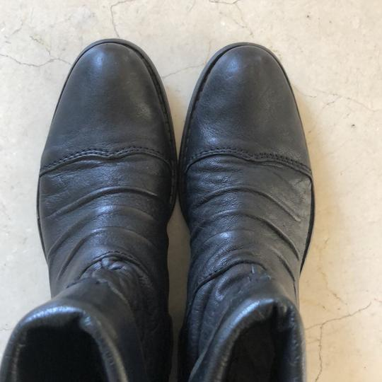 Gianluca Tombolini Leather Traffic Italian Hipster Black Boots Image 8