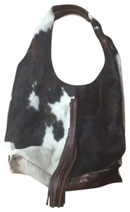 Niquea.D Tote in Black, Brown and Ivory