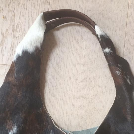 Niquea.D Tote in Black, Brown and Ivory Image 2