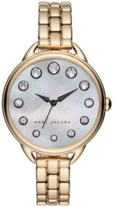 Marc by Marc Jacobs Marc Jacobs women's watch in gold tone