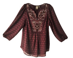one.september Sheer Sleeves Tunic