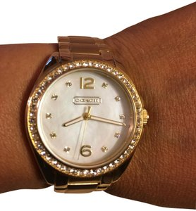Coach Coach Women Tristen Gold Tone Watch 14501675
