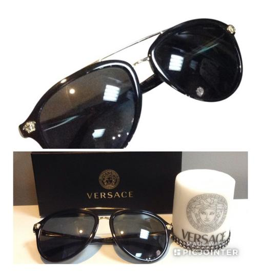 13c7e1944d9 Versace Black And Gold Sunglasses Australia