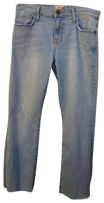 Item - Distressed The Kick Capri/Cropped Jeans Size 27 (4, S)