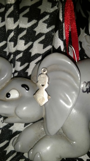 Sterling Silver Sterling Silver Charm 2 Stones EUC Image 1