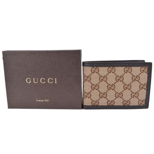 Gucci canvas leather men's wallet Image 1