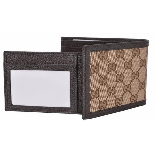 Gucci canvas leather men's wallet Image 2