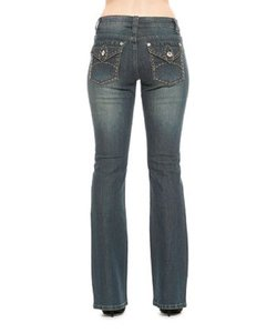 Rose Royce Boot Cut Jeans-Distressed