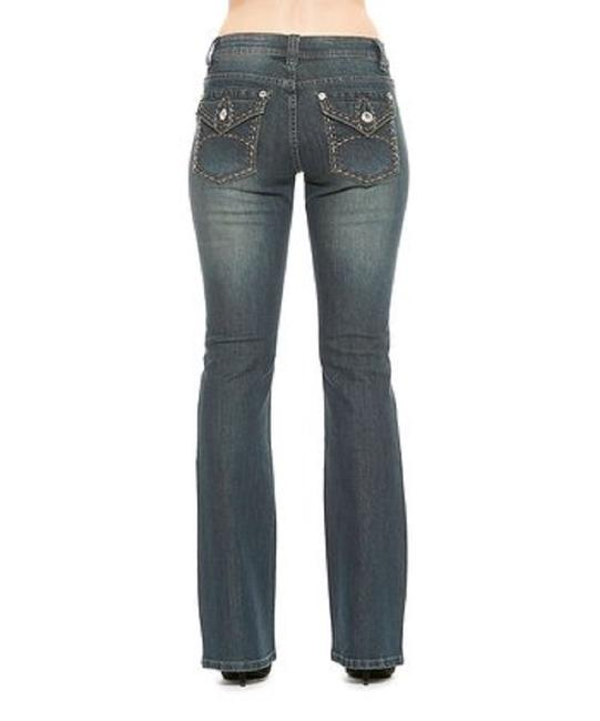 Rose Royce Boot Cut Jeans-Distressed Image 0