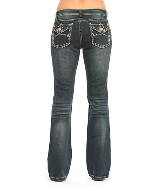 Rose Royce Boot Cut Jeans-Distressed Image 1
