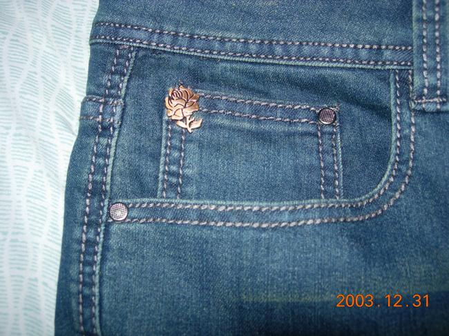 Rose Royce Boot Cut Jeans-Distressed Image 2