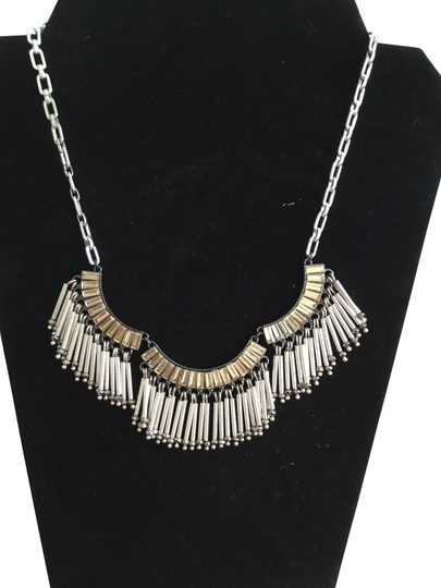 Preload https://img-static.tradesy.com/item/22761860/stella-and-dot-mixed-metal-two-tone-twighlight-fringe-necklace-0-1-540-540.jpg