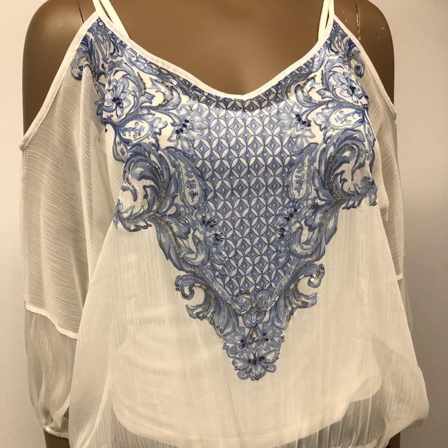 INC International Concepts Top washed white Image 2