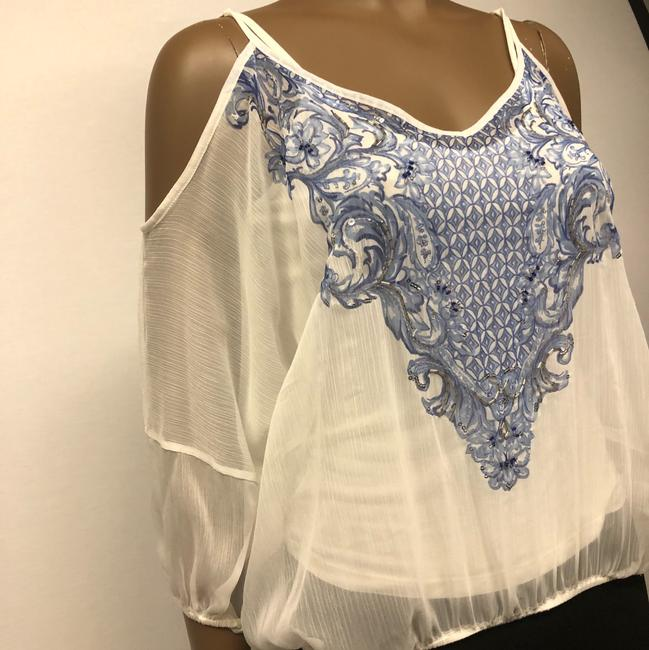 INC International Concepts Top washed white Image 3