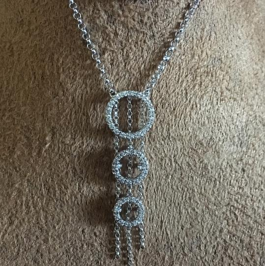 14k White Gold Diamond Necklace 14k white gold diamond necklace Image 1