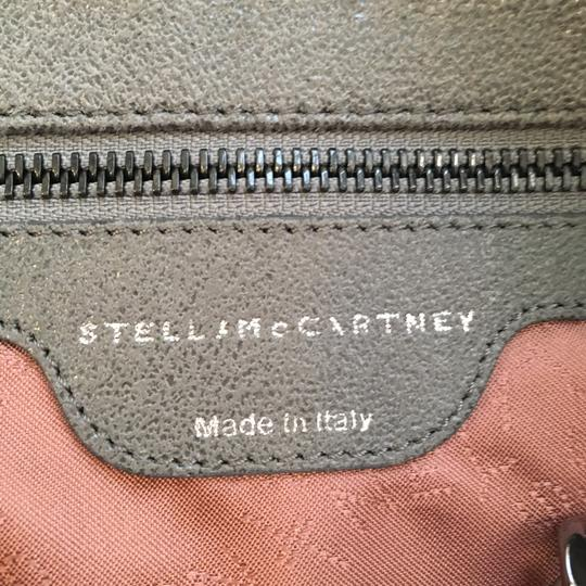 Stella McCartney Suede Silver Hardware Classic Tote in Grey Image 9