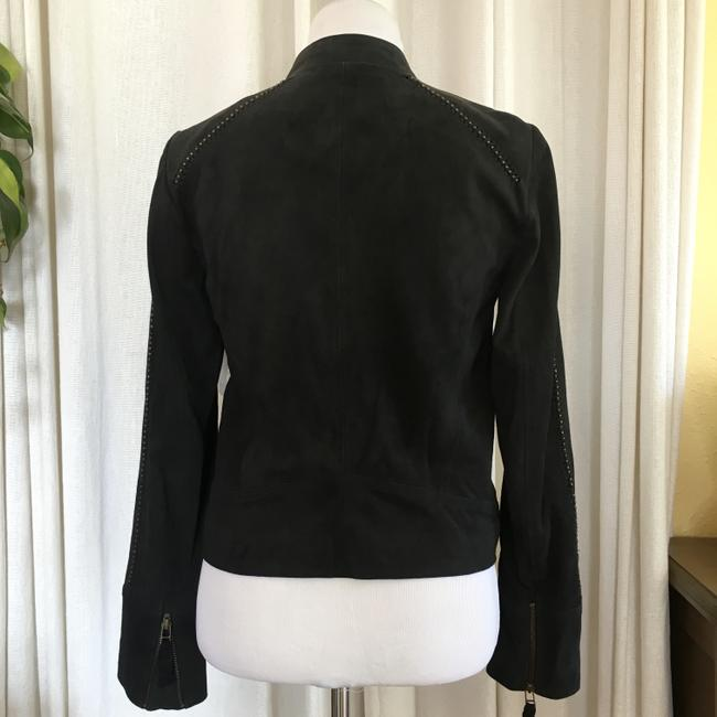 Joie Suede Studded Moto Motorcycle Jacket Image 5