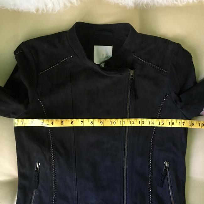 Joie Suede Studded Moto Motorcycle Jacket Image 7