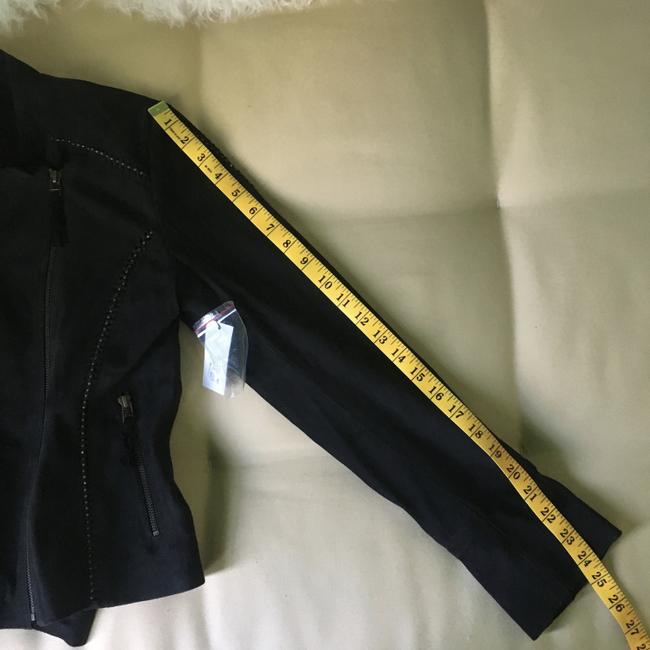 Joie Suede Studded Moto Motorcycle Jacket Image 9