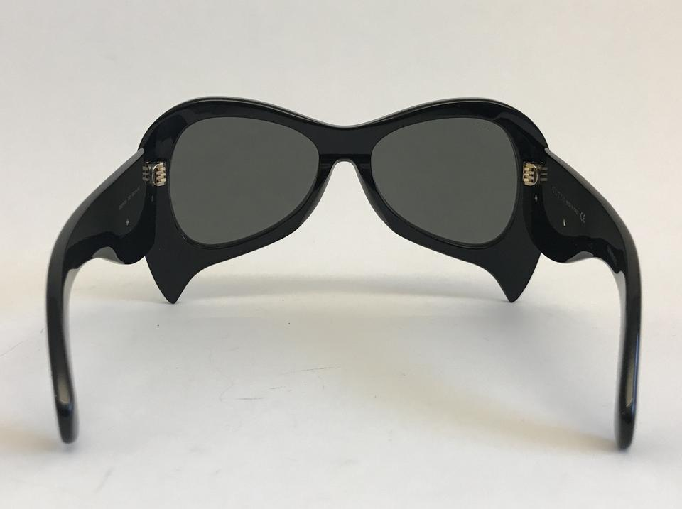 e1a34b4bb1b Gucci Oversize Acetate and Mother of Pearl Sunglasses Image 10.  1234567891011