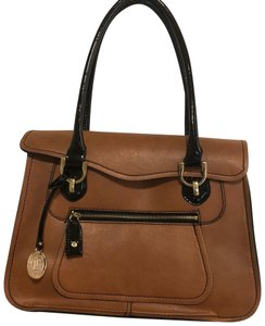 London Fog Tote in Tan